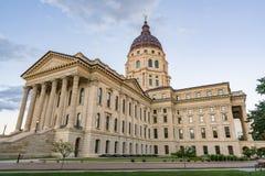 Bâtiment de capitale de l'État du Kansas photo stock