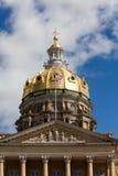 Bâtiment de capitol d'état de l'Iowa, Des Moines images stock