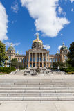 Bâtiment de capitol d'état de l'Iowa, Des Moines image stock