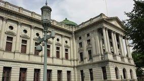 Bâtiment de capitol d'état de la Pennsylvanie à Harrisburg, Etats-Unis Image stock