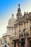 Bâtiment de capitol de Cuba.The et le grand théâtre de La Havane Image libre de droits