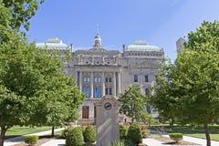 Bâtiment de capitol de maison d'état de l'Indiana Images libres de droits