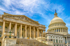 Bâtiment de capitol des Etats-Unis Images libres de droits