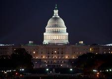 Bâtiment de capitol des Etats-Unis Photographie stock libre de droits
