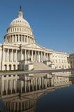 Bâtiment de capitol des USA Images libres de droits