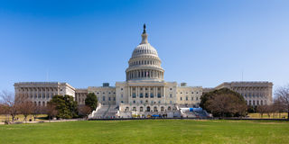 Bâtiment de capitol des USA dans le Washington DC Photographie stock libre de droits