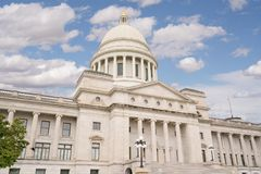 Bâtiment de capitol de l'Arkansas à Little Rock photos libres de droits