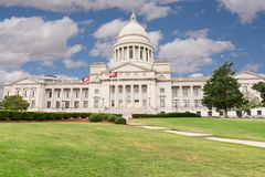Bâtiment de capitol de l'Arkansas à Little Rock photo stock