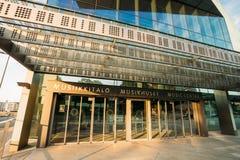 Bâtiment de centre de musique de théâtre de variétés à Helsinki Image libre de droits