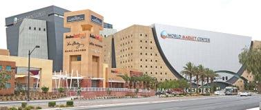 Bâtiment de centre du marché mondial  Photo stock