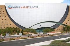 Bâtiment de centre du marché mondial  Image stock