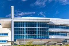 Bâtiment de centre médico-social de St John Images libres de droits