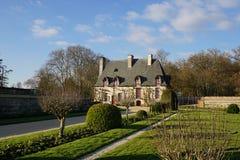 Bâtiment de Château Chenonceau Cancellery Image stock