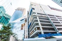 Bâtiment de chantier de construction Image stock