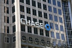 Bâtiment de Chase Bank Photo stock
