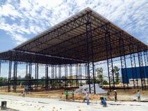 Bâtiment de construction Images stock