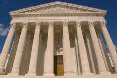 Bâtiment de court suprême photographie stock libre de droits