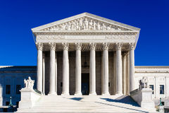 Bâtiment de court suprême des USA Photographie stock