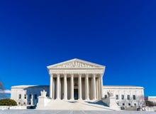 Bâtiment de court suprême des USA Image stock