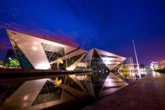 Bâtiment de diamant, université de Bangkok Image libre de droits