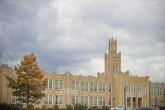 Bâtiment de enseignement de lycée de Hersheys Photos stock