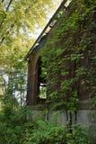 Bâtiment de fabrication abandonné Photographie stock