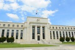 Bâtiment de Federal Reserve dans le Washington DC, Etats-Unis images stock