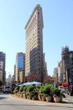 Bâtiment de fer à repasser à New York Photos stock