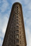 Bâtiment de fer à repasser dans NYC Photos stock