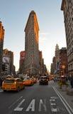 Bâtiment de fer à repasser, Manhattan, New York City Photo stock