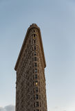 Bâtiment de fer à repasser, New York City, Etats-Unis Images libres de droits