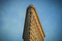 Bâtiment de fer à repasser, NYC photographie stock