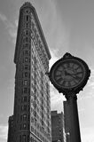 Bâtiment de fer à repasser, NYC, Etats-Unis Images libres de droits