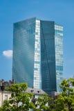 Bâtiment de Francfort BCE Image stock