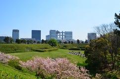 Bâtiment de Fuji TV dans Odaiba Tokyo Photo libre de droits