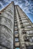 Bâtiment de Genex sur nouveau Belgrade photographie stock libre de droits