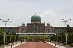 Bâtiment de gouvernement à Putrajaya, Malaisie Photo libre de droits