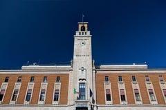 Bâtiment de gouvernement de style de Facist, Enna, Sicile, Italie Image libre de droits