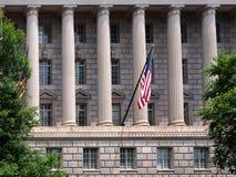 Bâtiment de gouvernement fédéral images libres de droits