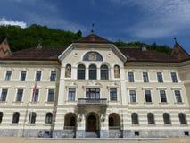 Bâtiment de gouvernement, Vaduz, Liechtenstein Image stock