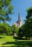 Bâtiment de Heinz Chapel à l'université de Pittsburgh photo stock