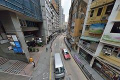 Bâtiment de Hong Kong Tall Photographie stock libre de droits