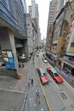 Bâtiment de Hong Kong Tall Image libre de droits