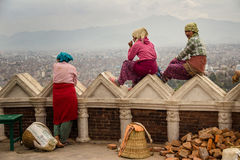 Bâtiment de Katmandou Photo libre de droits