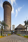 Bâtiment de KICC à Nairobi, Kenya, éditorial Image stock