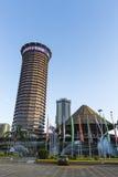 Bâtiment de KICC à Nairobi, Kenya, éditorial Images libres de droits
