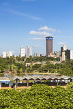 Bâtiment de KICC à Nairobi, Kenya, éditorial Photo stock