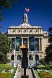 Bâtiment de législature d'Alberta photo stock