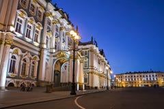 Bâtiment de l'ermitage à St Petersburg, Russie Photo stock