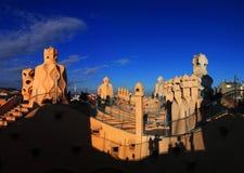 Bâtiment de l'Espagne, jardin de Miller Images libres de droits